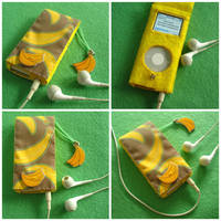 Going Bananas for my iPod by Mimi-Mushroom