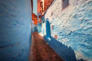 The Blue City by INVIV0
