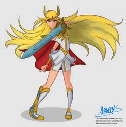 She-ra by Avarick