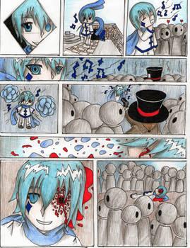 Alice Human Sacrifice: Blue by IvansKitsune