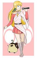 [COLLAB] J-Pop Idol Zelda (Skyward Sword) by Indie-Calls