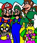 Luigi is the Captain of Mario Party by skatefilter5