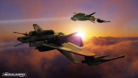 Combat Aerospace Patrol by unusualsuspex