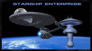 Starship Enterprise by unusualsuspex