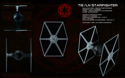 TIE Fighter ortho by unusualsuspex