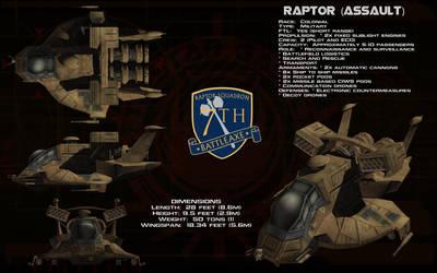 Raptor Assault ortho by unusualsuspex