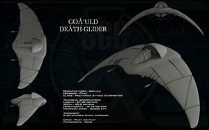 Goa'uld Death Glider ortho by unusualsuspex