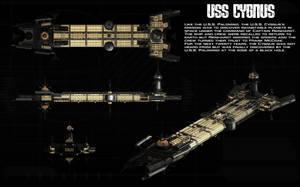 USS Cygnus ortho by unusualsuspex