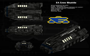 EA Crew Shuttle ortho by unusualsuspex