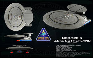 Nebula class ortho - USS Sutherland [updated] by unusualsuspex