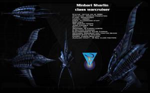 Minbari Sharlin class warcruiser ortho by unusualsuspex