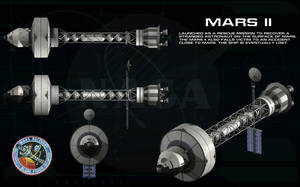Mission To Mars - Mars II ortho by unusualsuspex