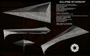 Eclipse starship ortho by unusualsuspex