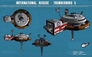 Thunderbird 5 ortho [new] by unusualsuspex