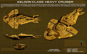Keldon Class Heavy Cruiser ortho [new] by unusualsuspex