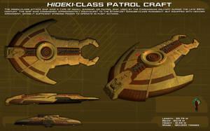 Hideki Class Patrol Craft ortho [new] by unusualsuspex