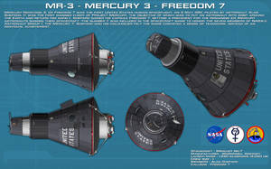 MR-3 Mercury 3 Freedom 7 ortho [2] [new] by unusualsuspex