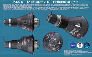 MA-6 Mercury 6 Friendship 7 ortho [2] [new] by unusualsuspex