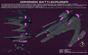 Dominion Battlecruiser ortho [New] by unusualsuspex