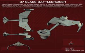 Klingon D7 ortho [New] by unusualsuspex