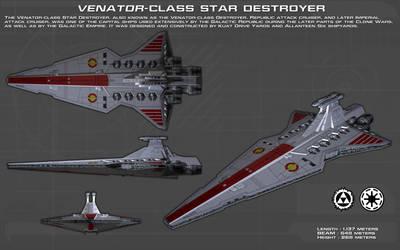 Venator Class Star Destroyer ortho [1][New] by unusualsuspex
