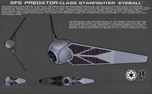 Predator-class Starfighter ortho [New] by unusualsuspex