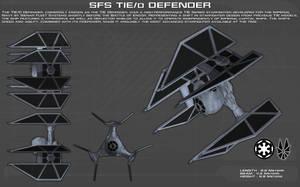 TIE/D Defender ortho [New] by unusualsuspex