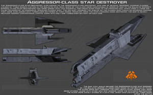 Aggressor-class star destroyer ortho [New] by unusualsuspex
