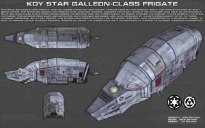 Star Galleon-class frigate ortho [New] by unusualsuspex