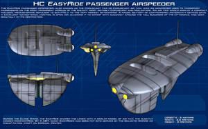 EasyRide Passenger airspeeder ortho [New] by unusualsuspex
