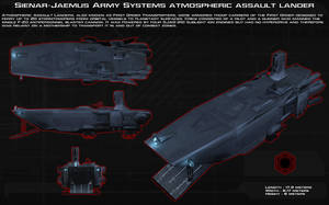 First Order Atmospheric Assault Lander ortho [New] by unusualsuspex