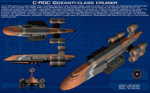 C-ROC Gozanti Cruiser commercial model ortho [New] by unusualsuspex