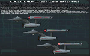USS Enterprise initial upgrades tech readout [New] by unusualsuspex