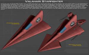 Valahari starfighter ortho [New] by unusualsuspex