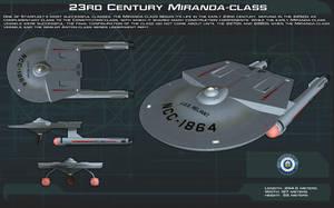23rd Century Miranda Class ortho [New] by unusualsuspex
