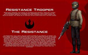 Resistance Trooper tech readout [New] by unusualsuspex