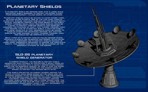 Planetary Shield Generator tech readout [New] by unusualsuspex