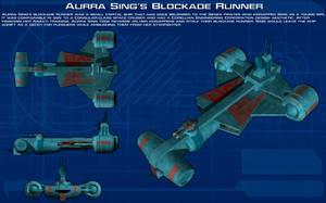 Aurra Sings Blockade Runner ortho [New] by unusualsuspex