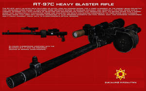 RT-97C heavy blaster rifle tech readout [New] by unusualsuspex