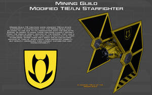 MG modified TIE ln starfighter tech readout [New] by unusualsuspex