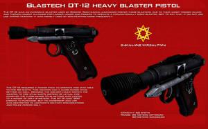 DT-12 Heavy Blaster Pistol tech readout [New] by unusualsuspex