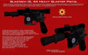 DL44 Heavy blaster pistol [Update] by unusualsuspex