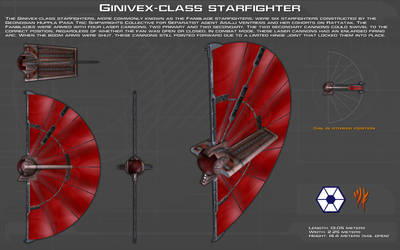 Ginivex-class starfighter ortho [New] by unusualsuspex