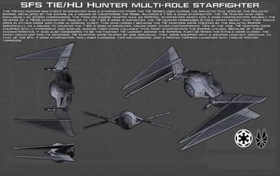 SFS TIE-HU Hunter starfighter ortho [New] by unusualsuspex