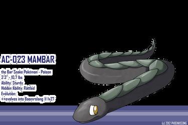 Mambar by phoenixsong