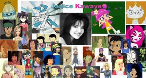 Janice Kawaye Tribute by cartoonfanboyone