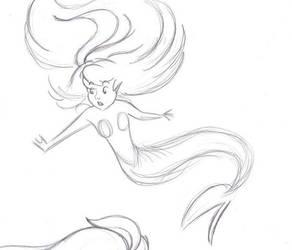 Ariel sketch 3 by Sacha31