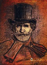 Giuseppe Verdi by da505