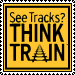 See Tracks Think Train Stamp by KitKat37