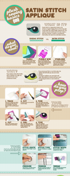 Satin Stitching Infographic by SewDesuNe